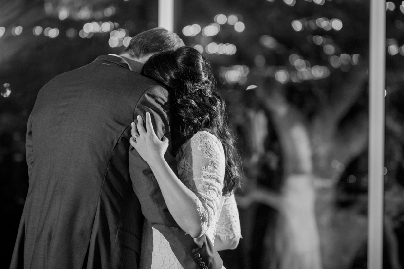 intimate first dance wedding photo
