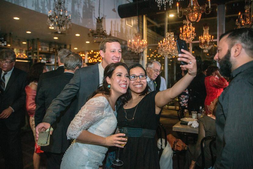 wedding receptions at night at the dunlavy