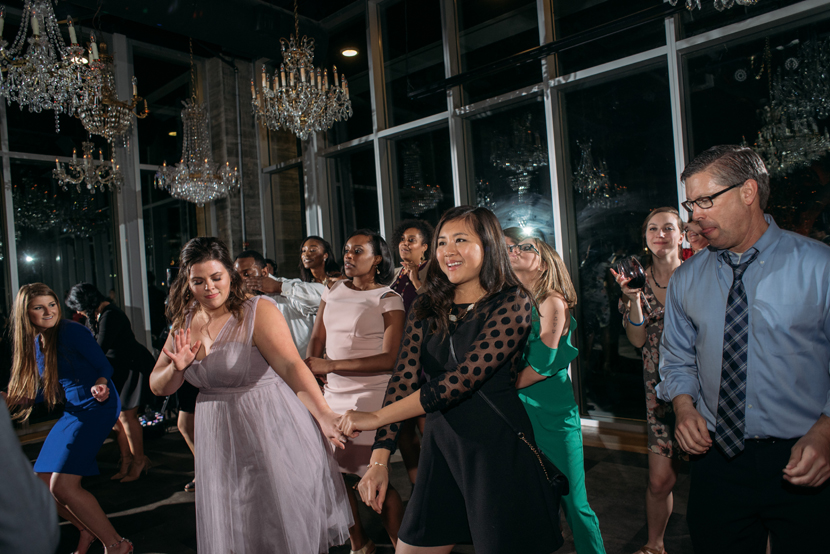 fun houston wedding reception