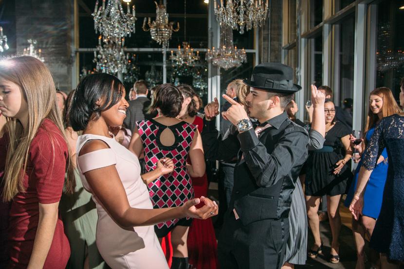 the dunlavy wedding reception