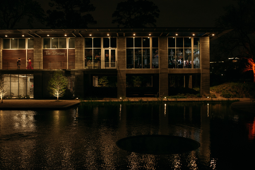 the dunlavy venue at night