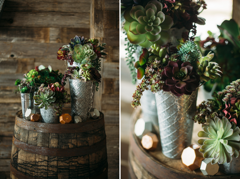 succulent wedding decorations