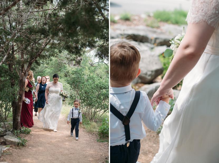 outdoor elopement in austin