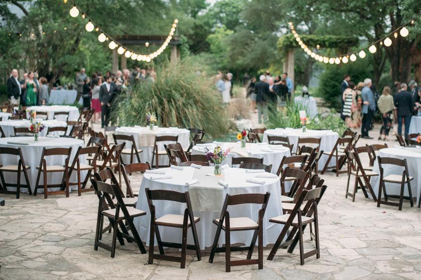 wildflower center dinner reception