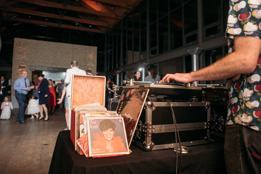 breakaway records spinning a wedding reception