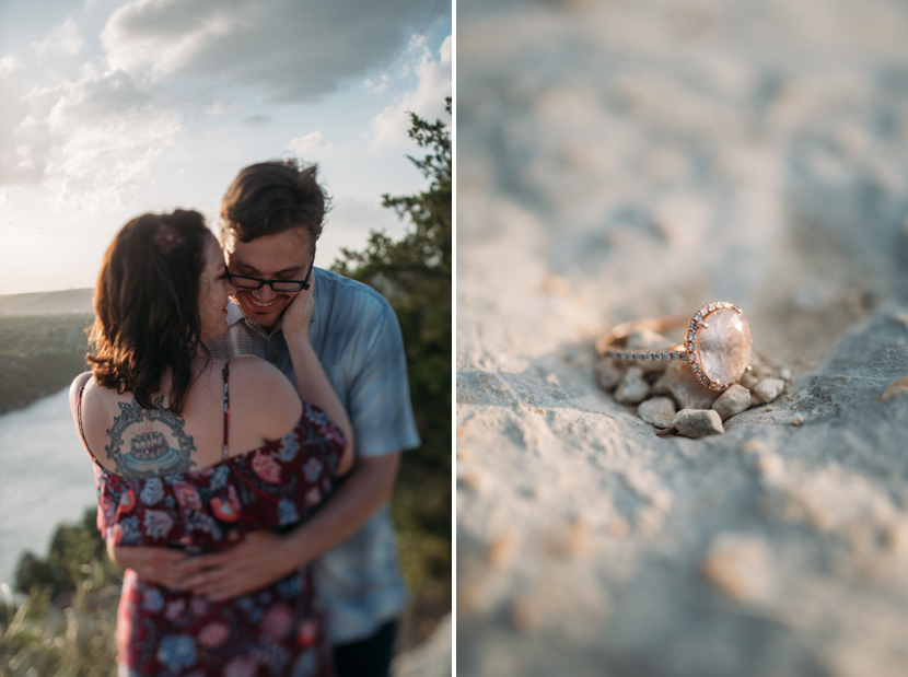 mt bonnell engagement photos