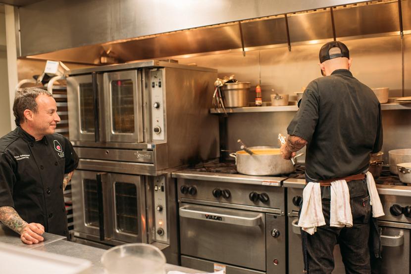 Palm Door kitchen