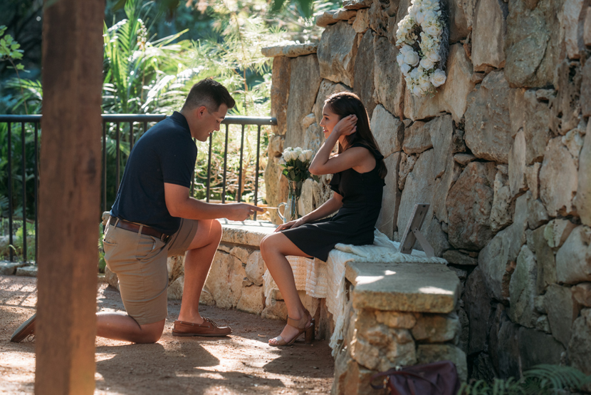 austin proposal photos zilker botanical garden