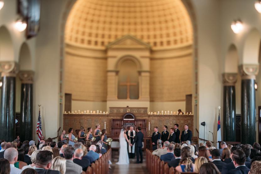 beautiful austin church wedding