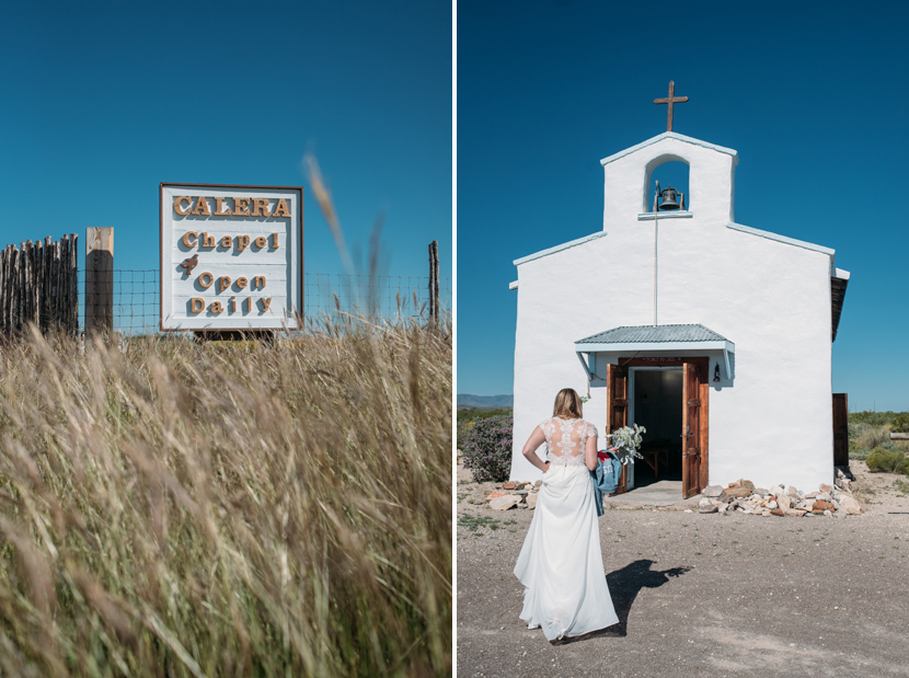 calera chapel wedding balmorhea
