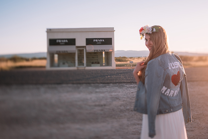 prada marfa bride shot