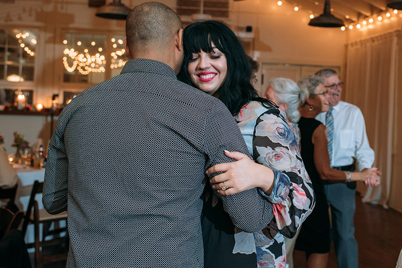 couples dancing during austin wedding reception