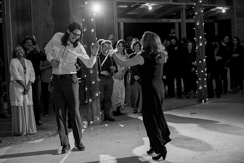 mother son dance in austin wedding