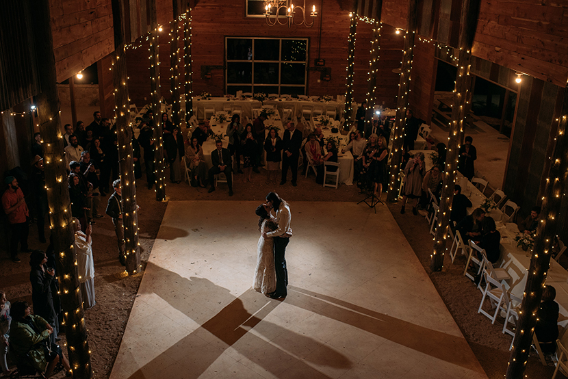first dance at ceres park ranch