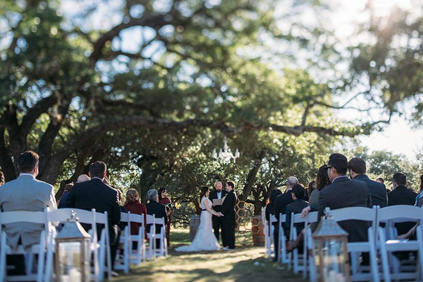 hye meadow winery ceremony photos