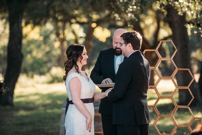 texas rustic outdoor wedding