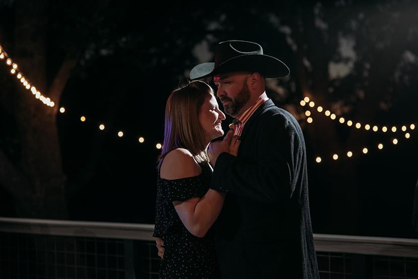 fun texas wedding reception photos