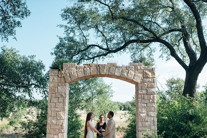 lbj wildflower center elopement