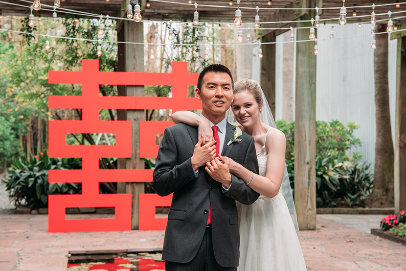 chinese american wedding held in houston tx