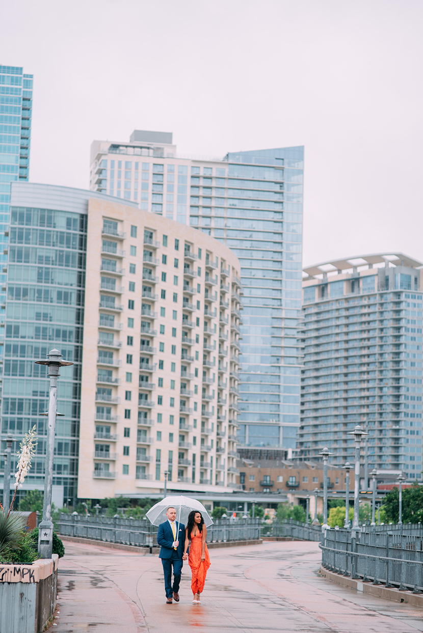 downtown Austin elopement photos