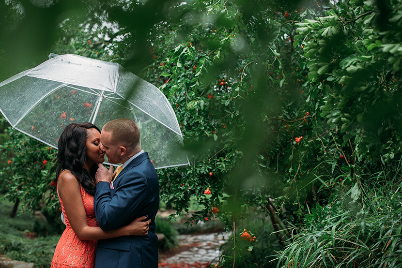 Colorful elopement photos