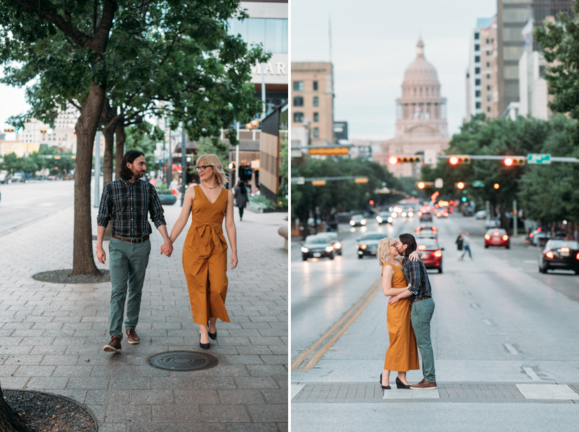 state capitol engagement photos
