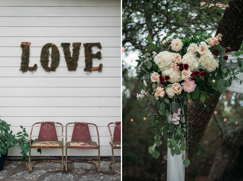 Wildflower Barn wedding