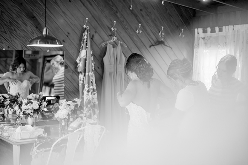 Artistic wedding photos