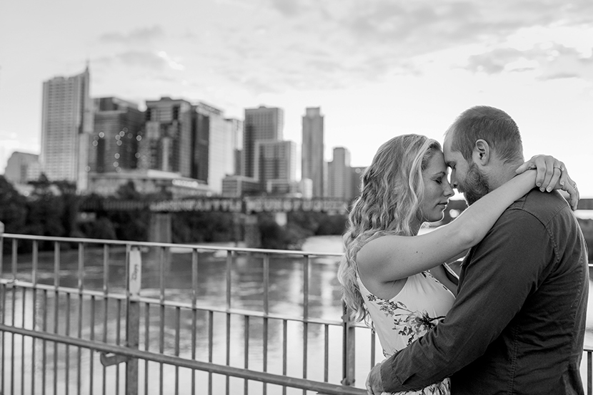 pfluger pedestrian bridge engagement photos