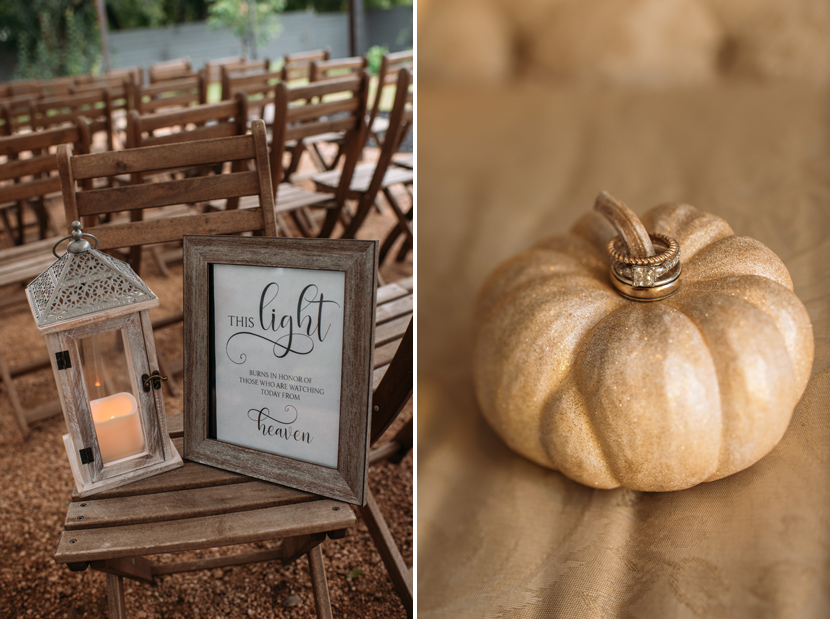 autumn wedding decor ideas
